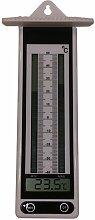 Koch Thermometer elektr. Minimum/Maximum Thermometer, weiß