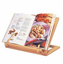 Kochbuchhalter aus Buchen-Holz