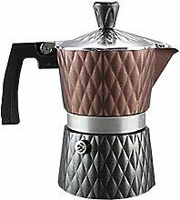 Kochfeld Espressomaschine, 6 Tassen Moka-Kanne,