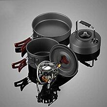 Kochgeschirr Bottom Cast Iron Dutch Oven, Topfset