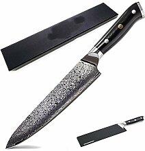 Kochmesser Damaskus Chef-Messer VG10 japanischen