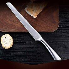Kochmesser Edelstahl Gezahnte Messer Toast Brot