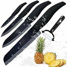 Kochmesser Küchenmesser Keramikmesser Koch Satz 4