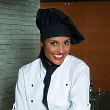 Kochmütze Chianti Classic 3200 Küchentextilien stufenlos schwarz