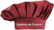 Kochmütze Commis de Cuisine Küche Service Kochen