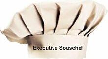 Kochmütze Executive Souschef Küche Sevice Kochen Backen, Farbe khaki