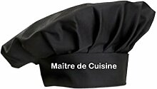 Kochmütze Maître de Cuisine Küche Service