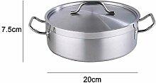 Kochtopf Edelstahl Topfdeckel mit Deckel Dutch Pot