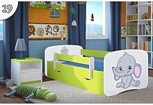 kinderbetten gr n g nstig online kaufen lionshome. Black Bedroom Furniture Sets. Home Design Ideas