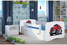 kinderbett feuerwehr g nstig online kaufen lionshome. Black Bedroom Furniture Sets. Home Design Ideas