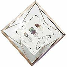 kocykoi Geometrische Bilderrahmen kreatives Metall
