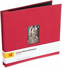 Kodak Fotoalbum mit Stoffeinband, 20,3 x 20,3 cm,