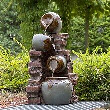 Köhko® Gartenbrunnen Riesa mit Mauerwerk und