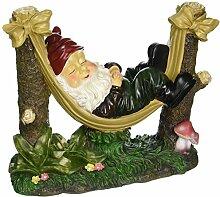 Köhler Home Decor Gnome schlummert Garten Statue