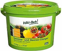 Kölle's Beste Gemüse- und Beeren-Dünger 2,5