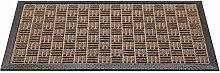 Kölle Fußmatte mit Rand, beige, 45x75 cm