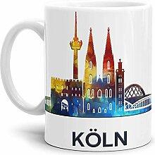 Köln-Tasse Skyline - Kaffeetasse/Mug/Cup -