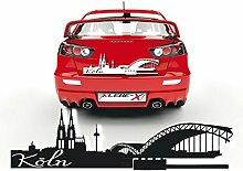 Kölner Dom Aufkleber für das Fahrzeug Sticker