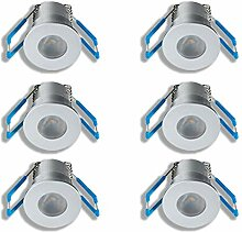 KÖNIG LED Mini Einbaustrahler 1W Dimmbar mit