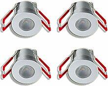 KÖNIG LED Mini Einbaustrahler 3W Dimmbar mit
