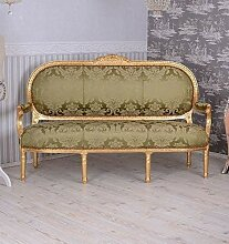 Königliches Sofa Barock Sitzbank Salonsofa Antik
