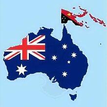 Königsbanner Hochformatflagge Australien - 150 x