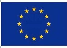 Königsbanner Hochformatflagge Europa - 80 x 200cm