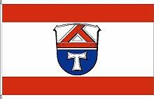 Königsbanner Tischfähnchen Landkreis Gießen -