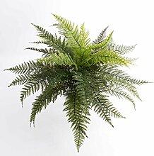 Königsfarn AARON, 35 Blätter, grün, auf Steckstab, 50 cm, Ø 65 cm Künstliche Pflanze / Kunst Farn - artplants