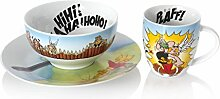 Könitz 3er Set Kindergedeck Asterix - HiHi! HaHa!