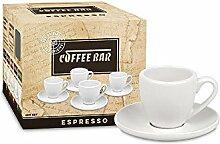 Könitz 4er Coffee Bar No. 1 - Espressoset - Weiß