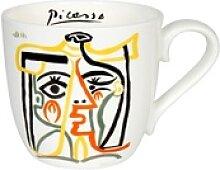 Könitz Becher Picasso - Jaqueline with hat, Bone
