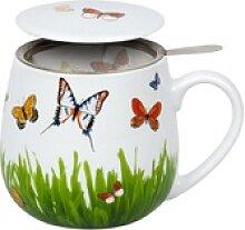 Könitz Becher Schmetterlingswiese mit Sieb und