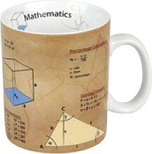 Könitz Becher Wissensbecher Math Englisch 460 ml,