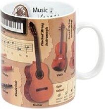 Könitz Becher Wissensbecher Music Englisch 460 ml