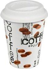 Könitz Coffee-to-go-Becher Coffee Collage Becher