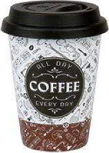 Könitz Coffee-to-go-Becher Coffee Talk Mug mit