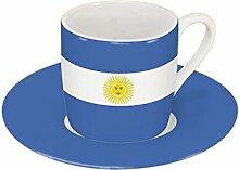 Könitz Espressoset Flaggen Argentinien