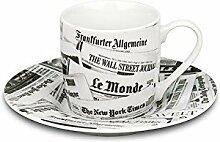 Könitz Espressoset Newspaper