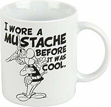 Könitz Kaffeebecher Asterix I wore a Mustache im