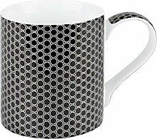 Könitz Kaffeebecher, Porzellan, Carbon, 11 x 8 x