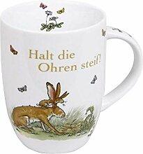 Könitz Kaffeebecher, Porzellan, Mehrfarbig, 12 x