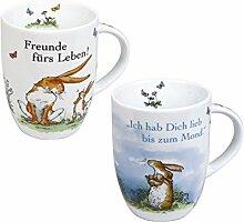 Könitz Porzellan Kaffee Becher Set Kinder Tasse
