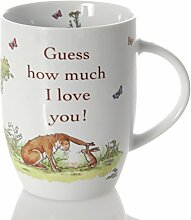 Könitz Tasse - Guess how much I love you!