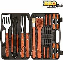 Koffer zudem Grill BBQ Master Tools 18teilig