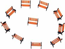 Kofun Stühle, 10 Stück 1: 100 Street Seats