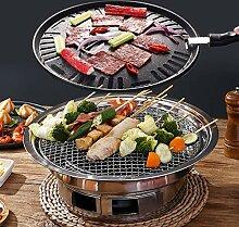 Kohle-Grill koreanischer Grill, tragbarer