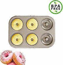 Kohlenstoffstahl Donut, Donut Backform, Antihaft