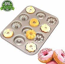 Kohlenstoffstahl Donut Formen, Runde und