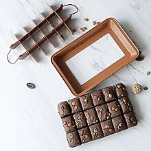 Kohlenstoffstahl Quadratisches Gitter Brownie